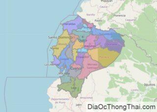 Bản đồ Ecuador